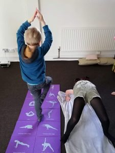 Professional level - Kids in yoga poses